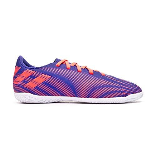 adidas Nemeziz 19.4 IN Niño, Zapatilla de fútbol Sala, Energy Ink-Signal Pink-Signal Green, Talla 5.5 UK (38 2/3 EU)