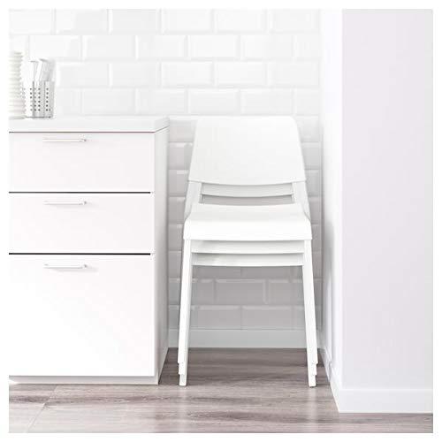 IKEA PS 2012 / TEODORES Mesa y 2 sillas, bambú blanco, duradero...