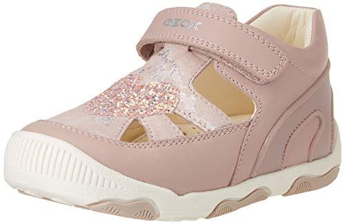 Geox Baby-Mädchen B New BALU' Girl A First Walker Shoe, LT Rose, 19 EU