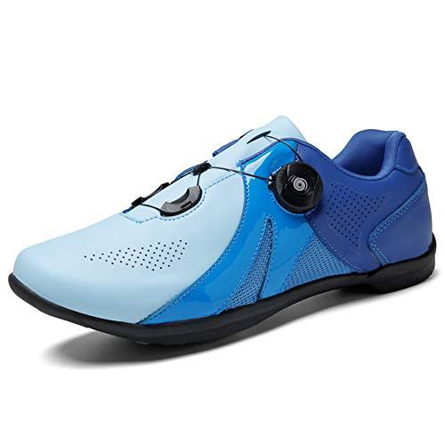 Aupast Zapatos de Ciclismo Zapatillas de Bicicleta Unisex Calzado Deportivo de MTB Transpirable Zapatos de Bicicleta de Carretera al Aire Libre