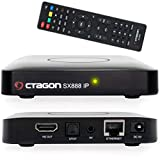 Octagon SX888 H265 Mini IPTV Box Receiver mit Stalker, m3u Playlist, VOD, Xtream, WebTV [USB, HDMI, LAN] Full HD