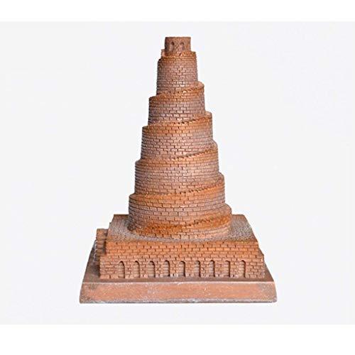 ZHYLing Creativa Decoración del Hogar Adornos Escultura Europea Arquitectura Artesanía Babel Torre Resina Modelo de Simulación