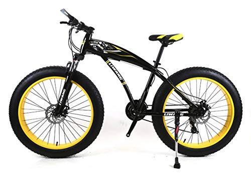 JFSKD 26 inch sneeuwscooter mountainbike brede band schijfremmen schokdemper student fiets