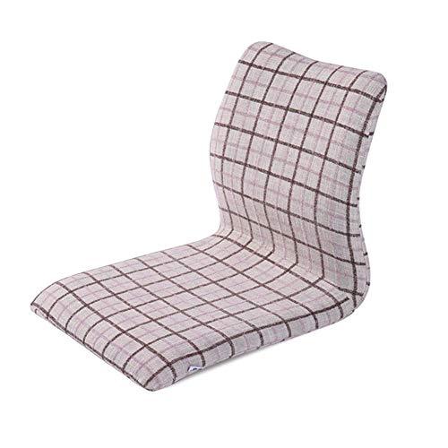 YLCJ Gestoffeerde vloerstoel met meditatiestandaard voor het neerzetten van de tv of spelen, geschikt voor thuis of op kantoor (kleur: stijl 3)