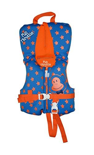 Full Throttle Infant Neoprene Life Jacket, Blue