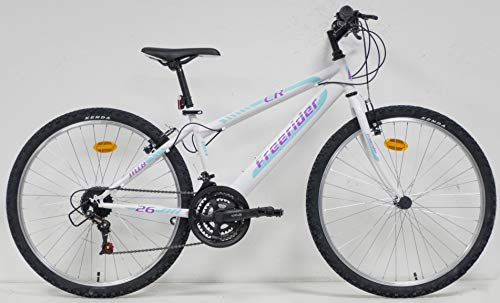 VTT 26'' Femme CR/Freerider - 18 Vitesses - POIGNEES TOURNANTES - Freins V-Brake