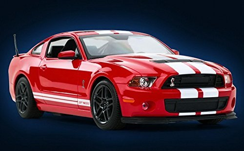 Radio Remote Control 1/14 Ford Mustang Shelby GT500 RC Model Car (Red)