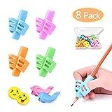 Pencil Grips, Pencil Grips for Kids Handwriting, HAWOWZ Writing Aid Gripper...