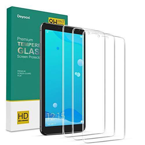 Deyooxi 3 Pezzi Vetro Temperato per Huawei P10 Lite,Pellicola Protettiva in Vetro Temperato Screen Protector Film per Huawei P10 Lite,Protezione Schermo,Anti-graffio,Anti-Impronta
