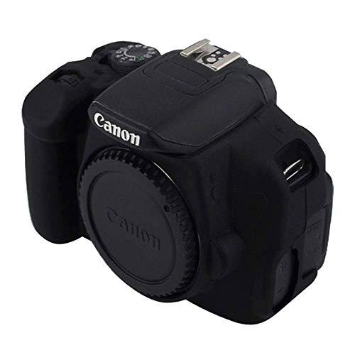 Bjhengxing Kameratasche Lenient Silikon-Schutzhülle for Canon EOS 650D / 700D (Camouflage) (Farbe : Black)