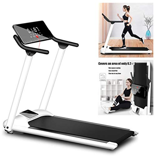 EKN Folding Treadmill Electric Exercise Fitness Running Machine with Bluetooth Speaker and Shock Absorption Walking Jogging Machine for Home/Office Use Low Noise Design Walking Treadmill Treadmills