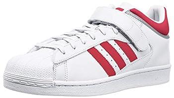 adidas Originals Men s Shoes | Pro Shell Running White/Scarlet/Metallic Silver  11 M US