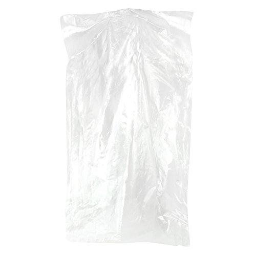 20 transparente Bekleidungsschutzhüllen Kleidersack aus Polyethylen Länge: 96,5 cm Hangerworld