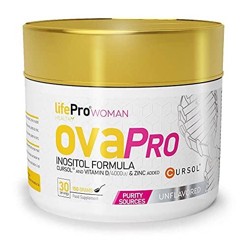 Life Pro Ovapro Myo Inositol 150g   Suplemento para síndrome de ovario poliquístico   (UNFLAVOURED)