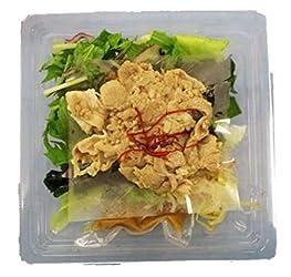 [冷蔵] デリシャス?クックごまぽん酢ドレで食べる豚しゃぶサラダ