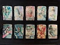 非売品《ボーカロイド 初音ミク②》オイルライター コレクションケース 10個セット 鏡音レン&リン
