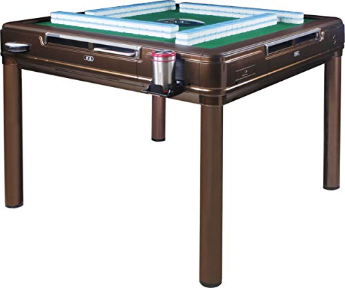 SOLOR松乐 Automatic Mahjong Table Dining Table with 4 Legs - 中國超大尺寸手感牌 Chinese Style, Philippine...