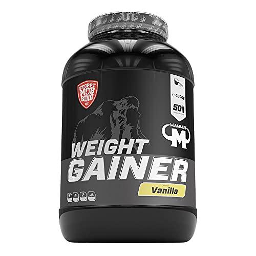Mammut Weight Gainer Crash 5000 Vanille, 4500 g Dose