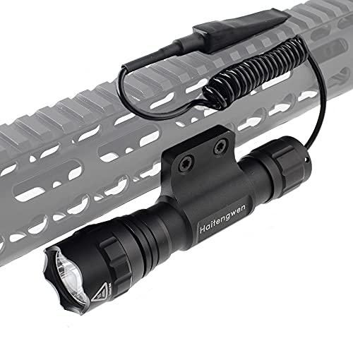 Haitengwen T1200 Rechargeable 500 Lumen Tactical...