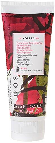 Korres Japanese Rose Körpermilch, 1er Pack (1 x 200 ml)