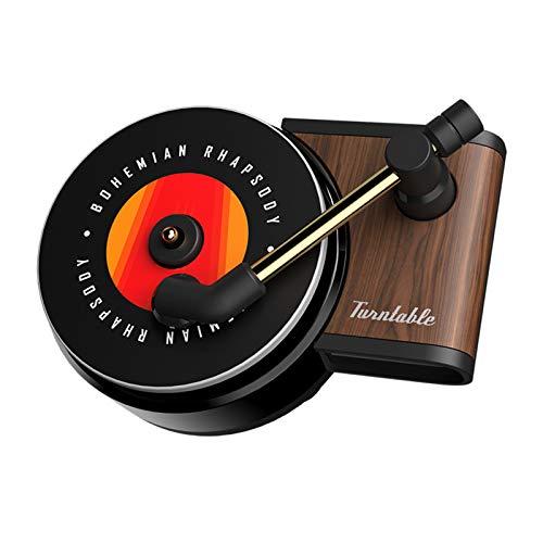 Eipek Deodoranti per Auto Diffusore di fragranze per Auto Giradischi retrò Clip di Aria Fresca Profumo Diffusore di Uscita per Auto Decor 3PCS
