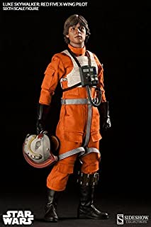 Sideshow Star Wars Episode IV A New Hope: Luke Skywalker Red-Five X-wing Pilot 1/6 Scale Figure by Sideshow