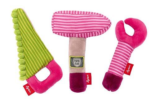 sigikid, Mädchen, Greifling, Werkzeug Set Girls, Papa & Me, Rosa, 42342