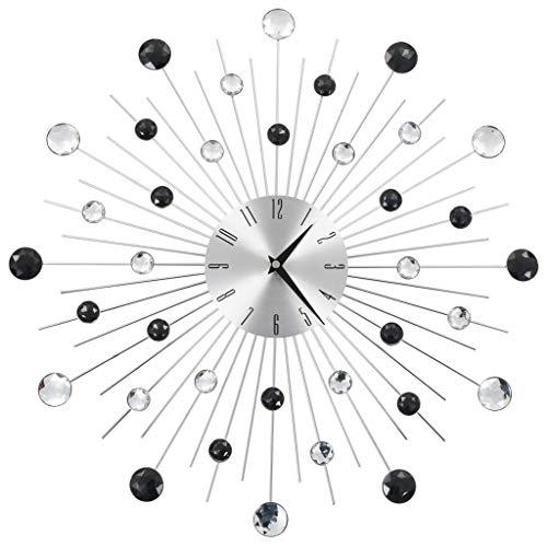 vidaXL Reloj Pared Moderno Diseño Rayos Original Decoració