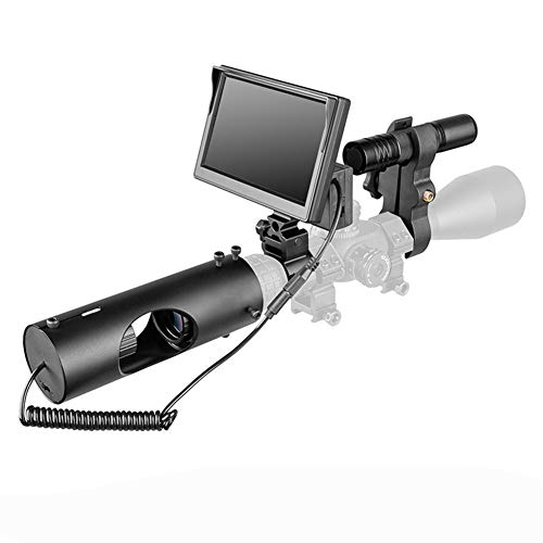 MUJING 850nm Infrarot LED IR Nachtsicht-Zielfernrohr Optische Zielfernrohre Optik Wasserdicht Ansicht Jagd Jagdkamera Jagd Wildlife Night Visi