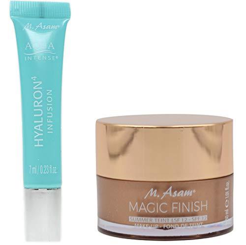 M. Asam® Magic Finish Make Up Summer Teint LSF 12 (30ml) + Aqua Intense® Hyaluron Infusion 7ml