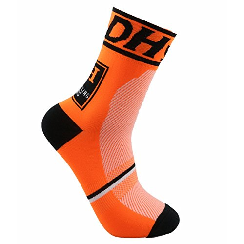 Calcetines Ciclismo Transpirable Que Absorbe Running Deporte Bicicletas Calcetines Hombre Mujer