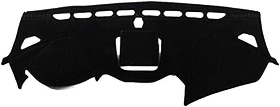Oneuda Flannel Dashmat Dashboard Cover Dash Pad Car Mat Carpet Sun Shade for Hyundai Santa Fe Santa Fe Sport IX45 Maxcruz 2013-2016 2017 2018