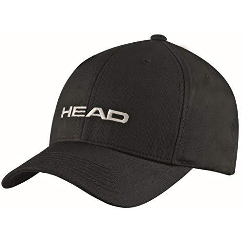 HEAD Unisex-Erwachsene Promotion Cap, Black, Einheitsgröße