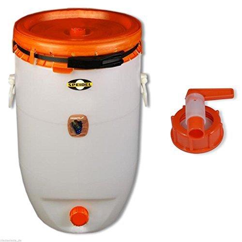 Contenitore per bevande SPEIDEL - Fermentatore 120 L rotondo + 1 rubinetto (22150+22139)