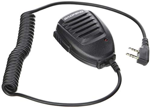 BAOFENG Emote Lautsprecher Handheld Mikrofon für UV-5R Handfunkgerät Radio