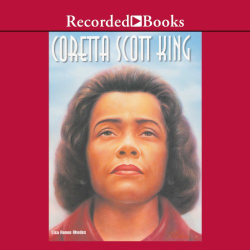 Coretta Scott King audiobook cover art