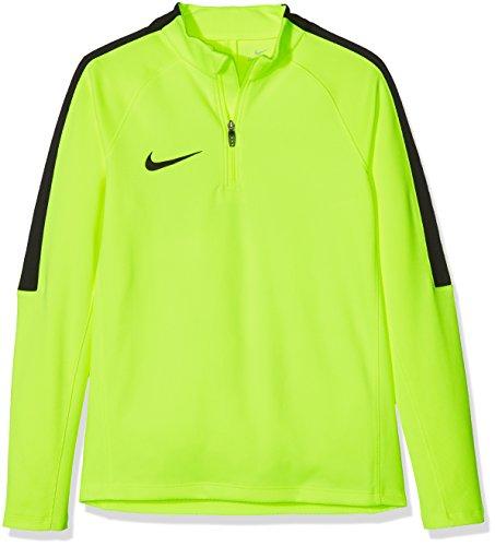 Nike Y DRIL Top SQD - Maglietta, Giallo S, Unisex