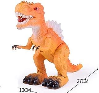 Jurassic World T-Rex Dinosaur Toy Figure Smart Walking Sounds Roaring Realistic orange 6630