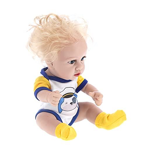Jopwkuin Muñeca Reborn Muñecas Infantiles Reborn de Vinilo de 12 Pulgadas Muñeca recién Nacida Realista Muñecas Pesadas Hechas a Mano Muñeca de la Vida Real para niños de 3 4 5 6 7 años