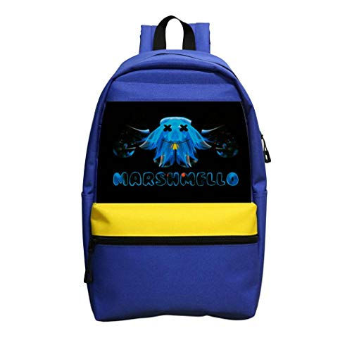 Not applicable Marsh-mello Girls Backpack Boys Shoulder Bag School Laptop Knapsack Kids Adult Outdoor