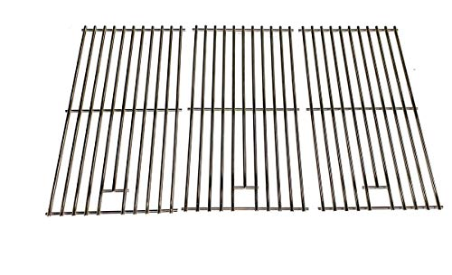 Replacement Stainless Cooking Grid for Master Forge P3018, MFA550CBP and Ducane 4100, Affinity 31421001, Affinity 4100, Affinity 4200 Gas Grill Models, Set of 3