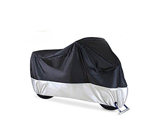 Irypulse Funda para Moto/Cubierta de la Motocicleta, Impermeable A Prueba de Polvo con Bolsa de Almacenamiento Protección Al Aire Libre Anti-rasguño 3 Tamaños-3XL