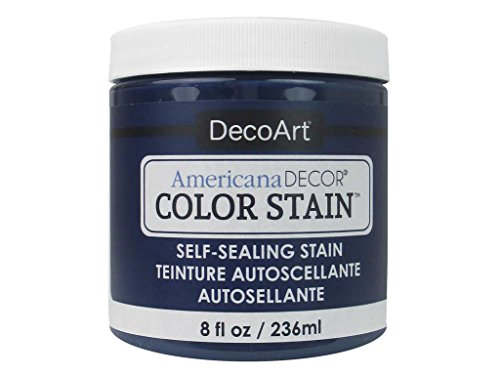 DecoArt Americana Decor Color Stain 8oz Navy, Blue