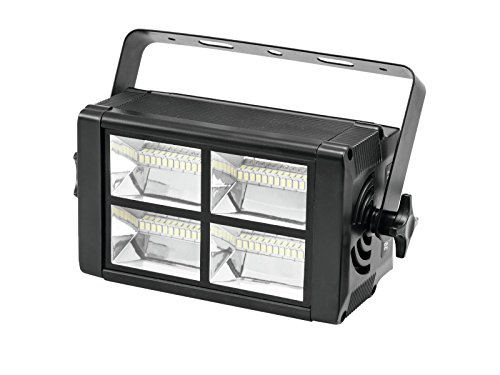 showking LED Stroboskop 230V / 20W, 48xweiße LEDs, Musiksteuerung/DMX Steuerung - Disco Blitzer/Stroboskopeffekt
