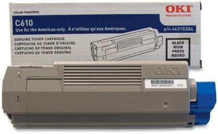 Oki C610 Series Black Toner, 8000 Yield - Genuine Orginal OEM toner