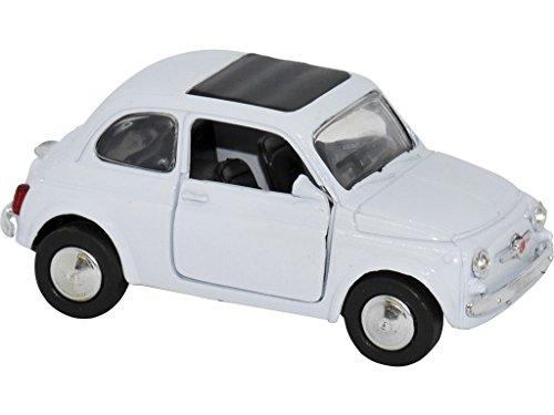 Figure FIAT 500 1965 Blanc Escale 1:32 9 cm