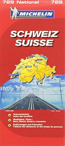 Schweiz (MICHELIN Nationalkarten)