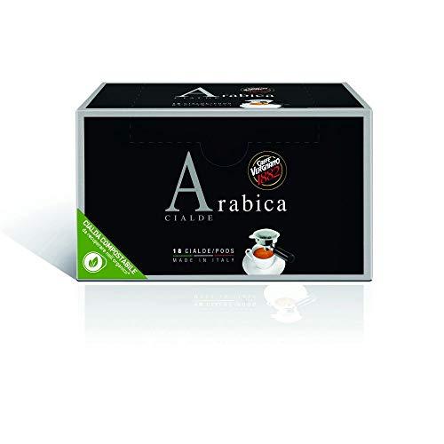 Caffè Vergnano 1882 Pads Caffè Arabica - Packung enthält 18 Pads