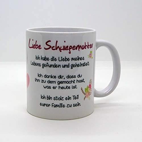 Kaffeebecher ~ Tasse - Liebe Schwiegermutter -Sohn ~ Weihnachten Geschenk