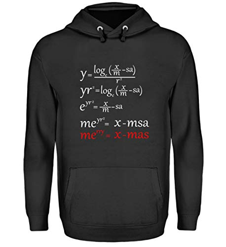 Chorchester Merry X-Mas Frohe Kerstmis Mathe Nerd - Unisex capuchontrui hoodie